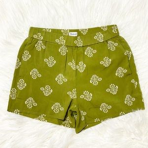NWT | Madewell Printed Pull On Shorts Size XS